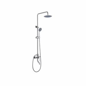 中博衛浴S3021淋浴花灑帶頂噴三出水套裝掛墻式全銅浴缸淋浴水龍頭 家用浴室熱水器淋浴花灑