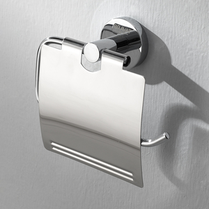 德国贝朗 不锈钢置物纸巾架 纸盒卫生间壁挂卷纸器 厕纸盒 手纸架