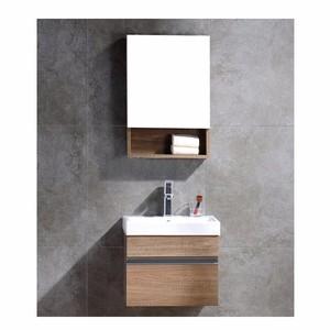 中博卫浴2002-44挂墙式生态板浴室柜 洗手间壁挂化妆镜