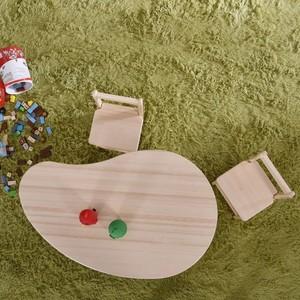 Sampo 松堡王国 北欧松木圆角芒果桌 学习桌 玩具桌 SP-GP002