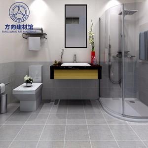 佛山瓷砖 仿古砖6019B 600X600布纹瓷砖地板砖厨房卫生间墙砖防滑地砖