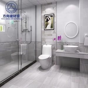 佛山瓷砖 仿古砖C6008 600x600浴室卫生间墙砖防滑地砖北欧厨卫地板砖