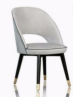 布艺实木餐椅ZSJ-DY-000007