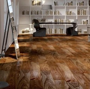 必美地板 史迪莱克 单拼胡桃木
