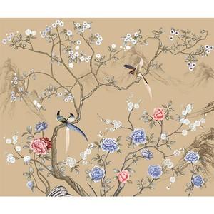 菲莫斯软装 菲-逊亚-壁画 BM-83119 国色天香