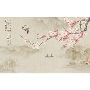 菲莫斯软装 菲-逊亚-壁画 BM-83124 国色天香