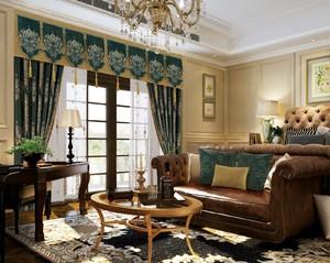 FK1613 芙蓉纺高端定制窗帘 欧式美式豪华提花窗帘 客厅大气卧室隔音遮光
