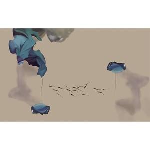 菲莫斯软装 菲-逊亚-壁画 BM-79308 桃源新梦