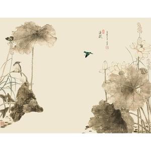 菲莫斯软装 菲-逊亚-壁画 BM-79371 桃源新梦