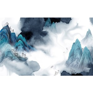 菲莫斯软装 菲-逊亚-壁画 BM-79402 桃源新梦