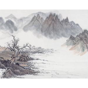 菲莫斯软装 菲-逊亚-壁画 BM-79403 桃源新梦