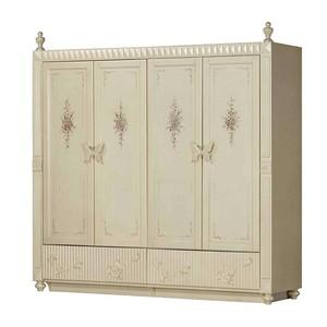 巴里巴特 古典美式 P815-09M 四门衣柜