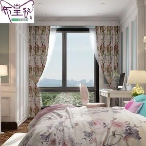 布皇谷 乡村美式窗帘 EY1164D-2
