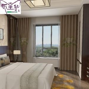 布皇谷 古典中式窗帘 B605-2