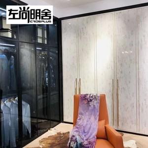 左尚明舍-标准衣柜-高庭橡木配珍珠白