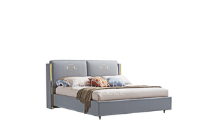 L-DC015床/L-CG015床头柜
